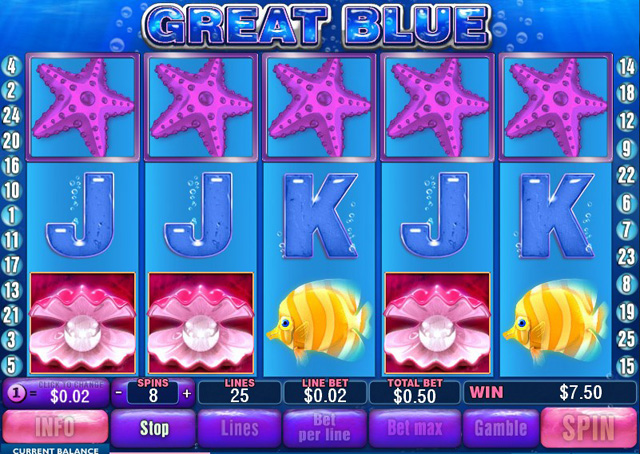 free slots games great blue